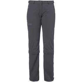 VAUDE Farley II Stretch T-Zip Capri Damen iron